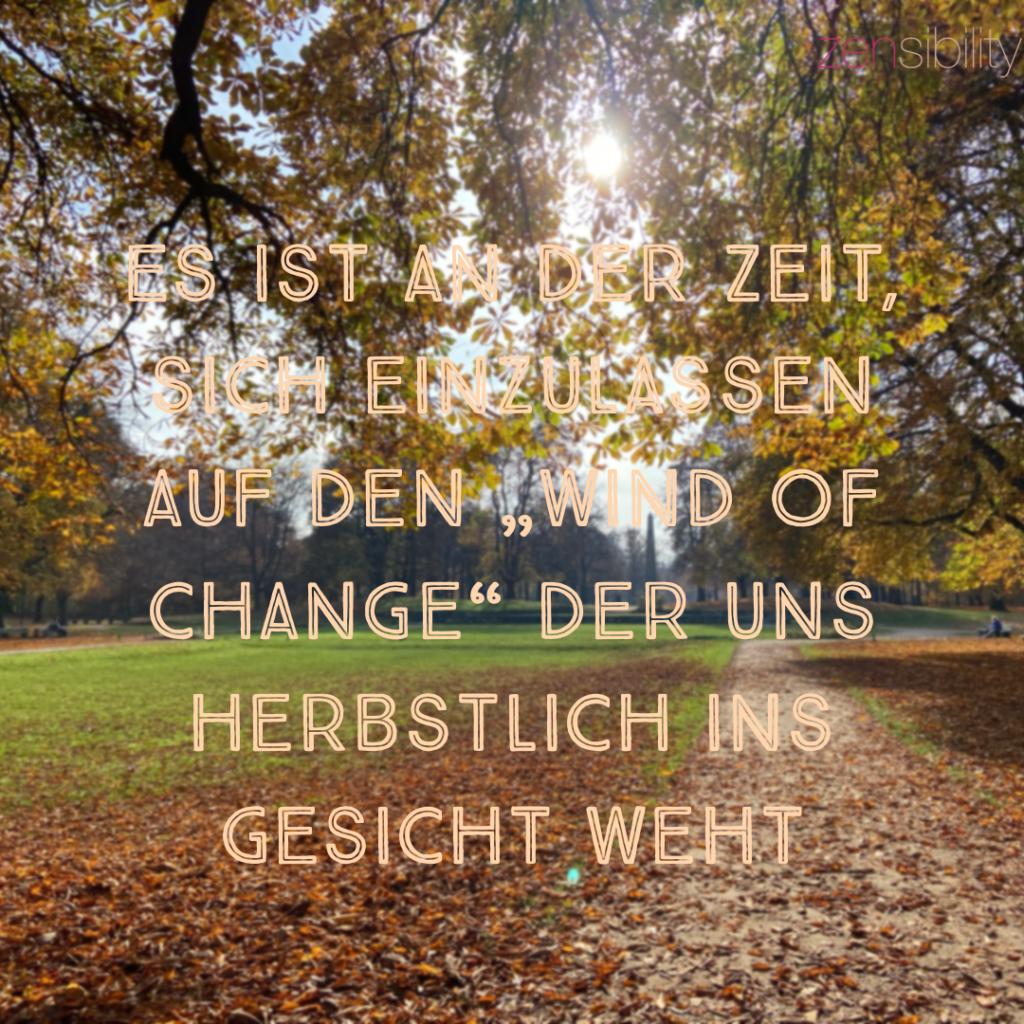 Zeit für Wandel..